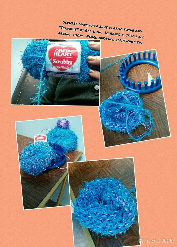 Scrubby made on 5 inch loom. … | Crafts |…