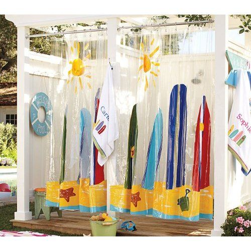 Boys Bathroom Amazon Com Pottery Barn Kids Island Surf Surfboard