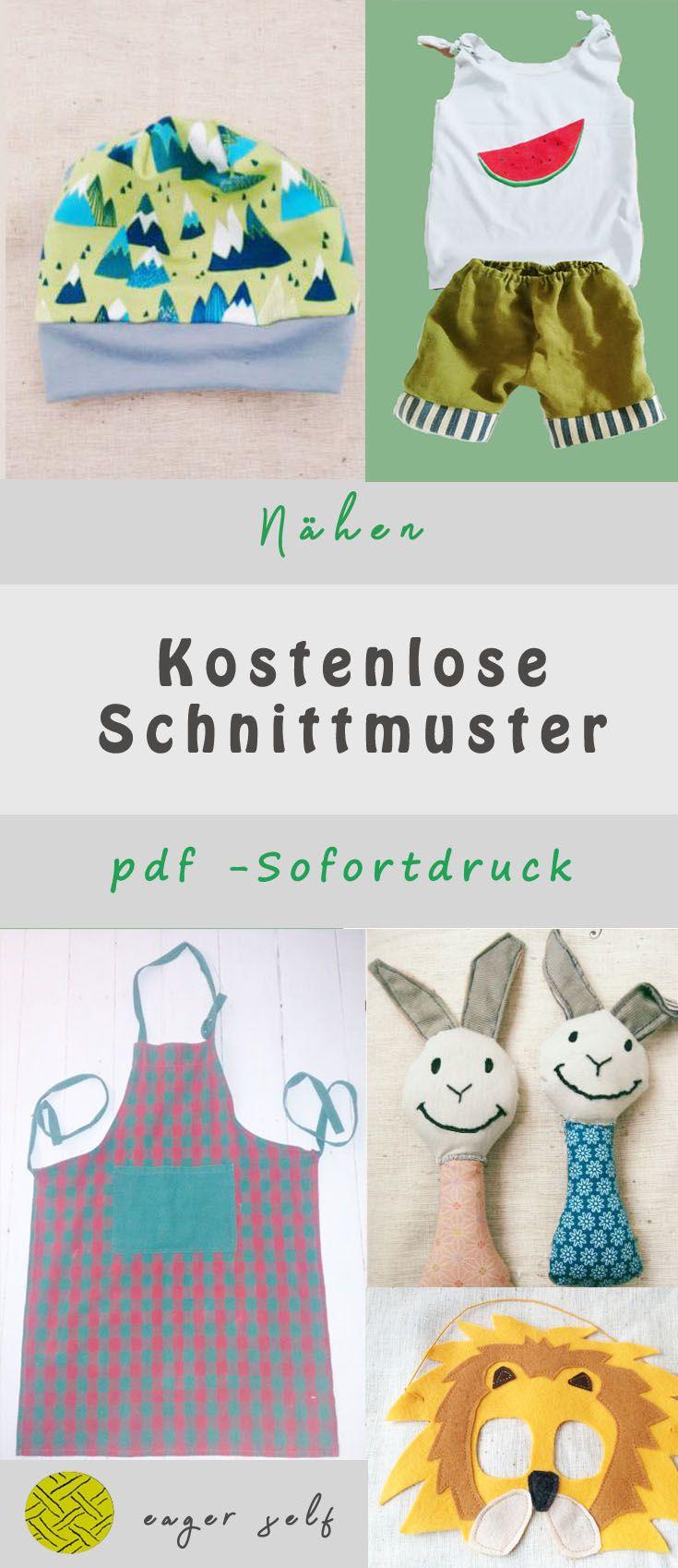 Kostenlose Schnittmuster pdf download | Nähen | Pinterest ...