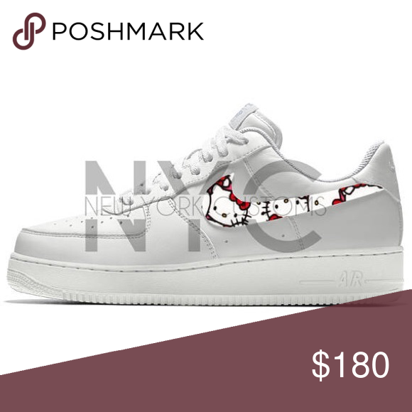 Hello Kitty Nike Air Force 1 Low Custom Women Our asking