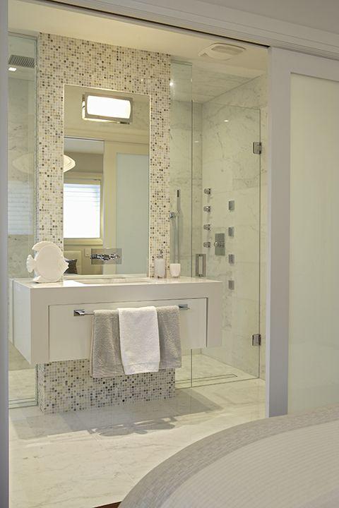 Contemporary Master Ensuite Bathroom By Regina Sturrock ...