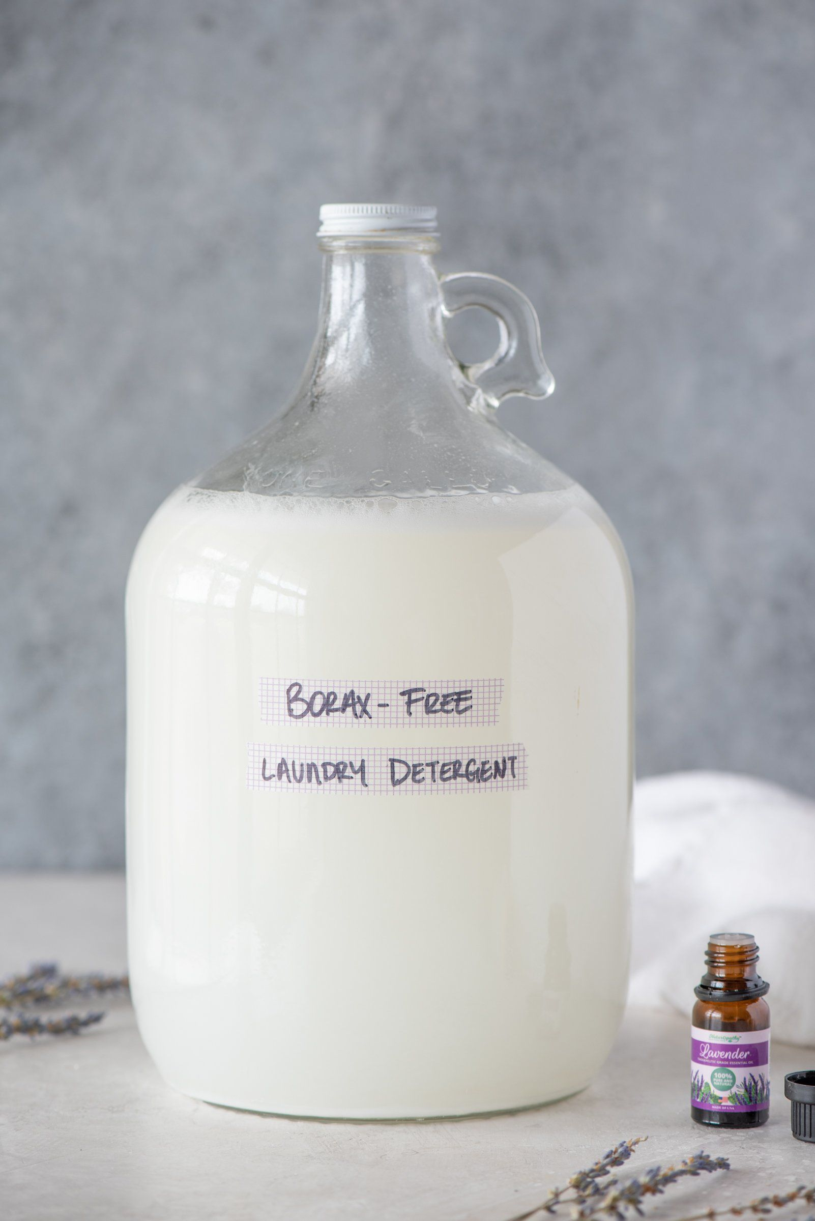 How To Make All Natural Liquid Laundry Detergent In 2020