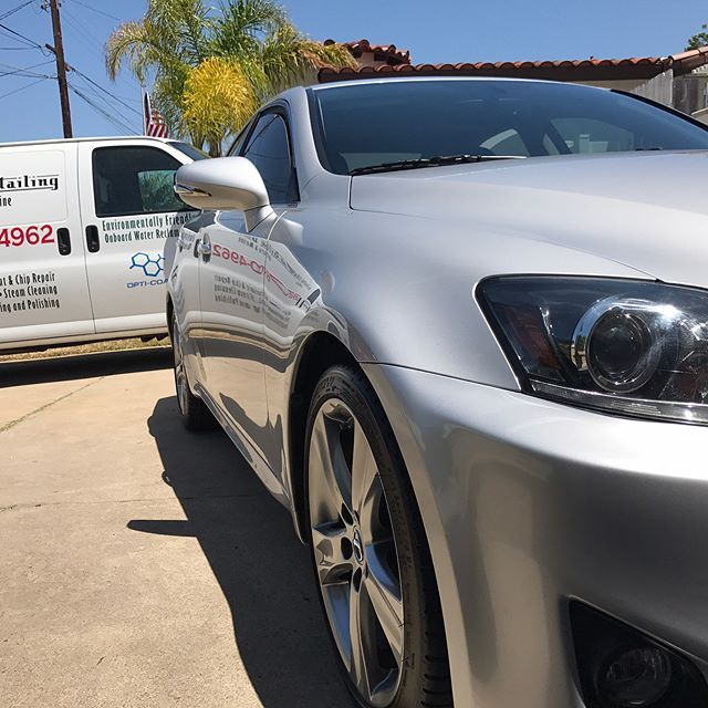 These silver beauty received a full detail today We love referral
