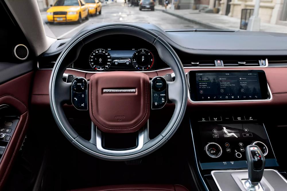 2020 Range Rover Evoque Sports Shades Of Velar Mild Hybrid Powertrain In 2021 Range Rover Interior New Range Rover Evoque Luxury Cars Range Rover