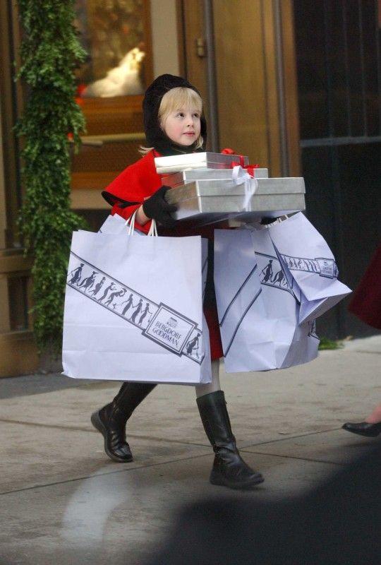 Eloise at the Plaza! Shopping at Bergdorf Goodman!