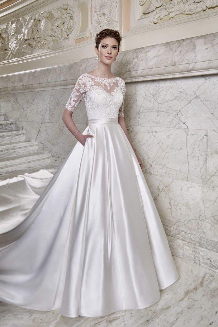 1001 + ideas for long sleeve wedding dresses