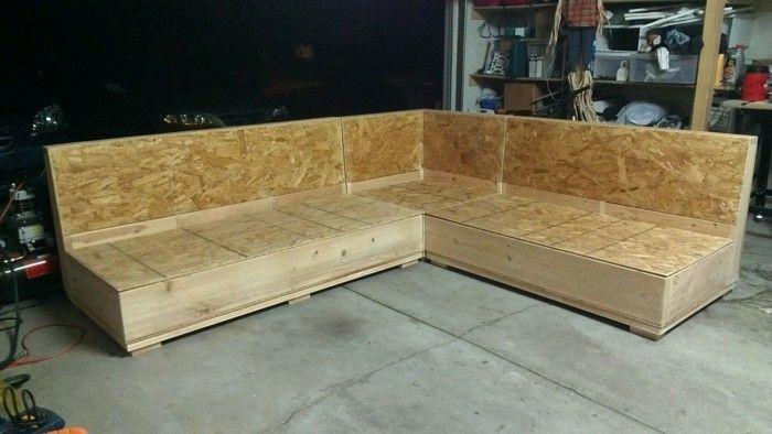 Schon Schon Sofa Selber Bauen Holz Diy Lounge Couch