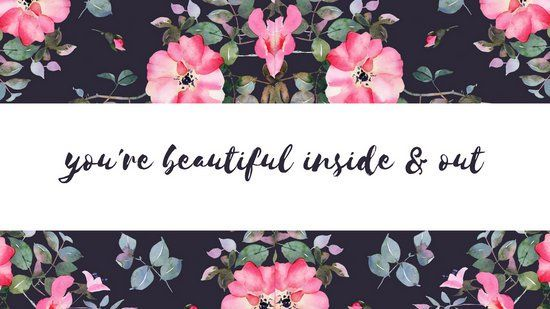 Pink Watercolors Flowers Love Desktop Wallpaper Templates By Canva Pink Watercolor Flower Pink Watercolor Watercolor Flowers