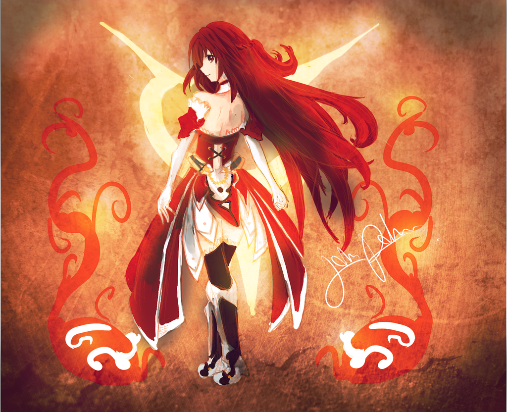 Elsword - The Red Haired-Knight  Elsword, Anime warrior, Red hair