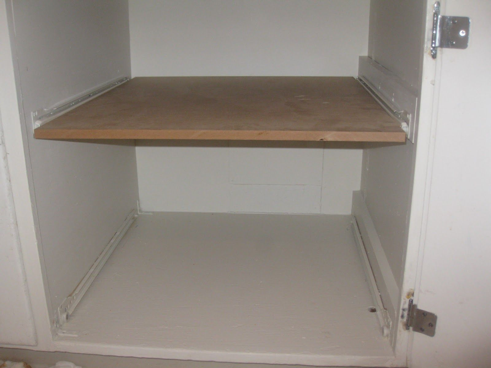 DIY Pull Out Cupboard Drawers