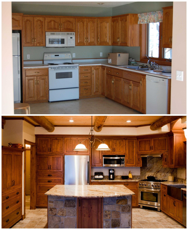 Kitchen Remodel Custom Cabinets Out Of Alder Kitchen Remodel Kitchen Custom Cabinets