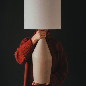 Asymmetry Ceramic Table Lamp – Small Young Room