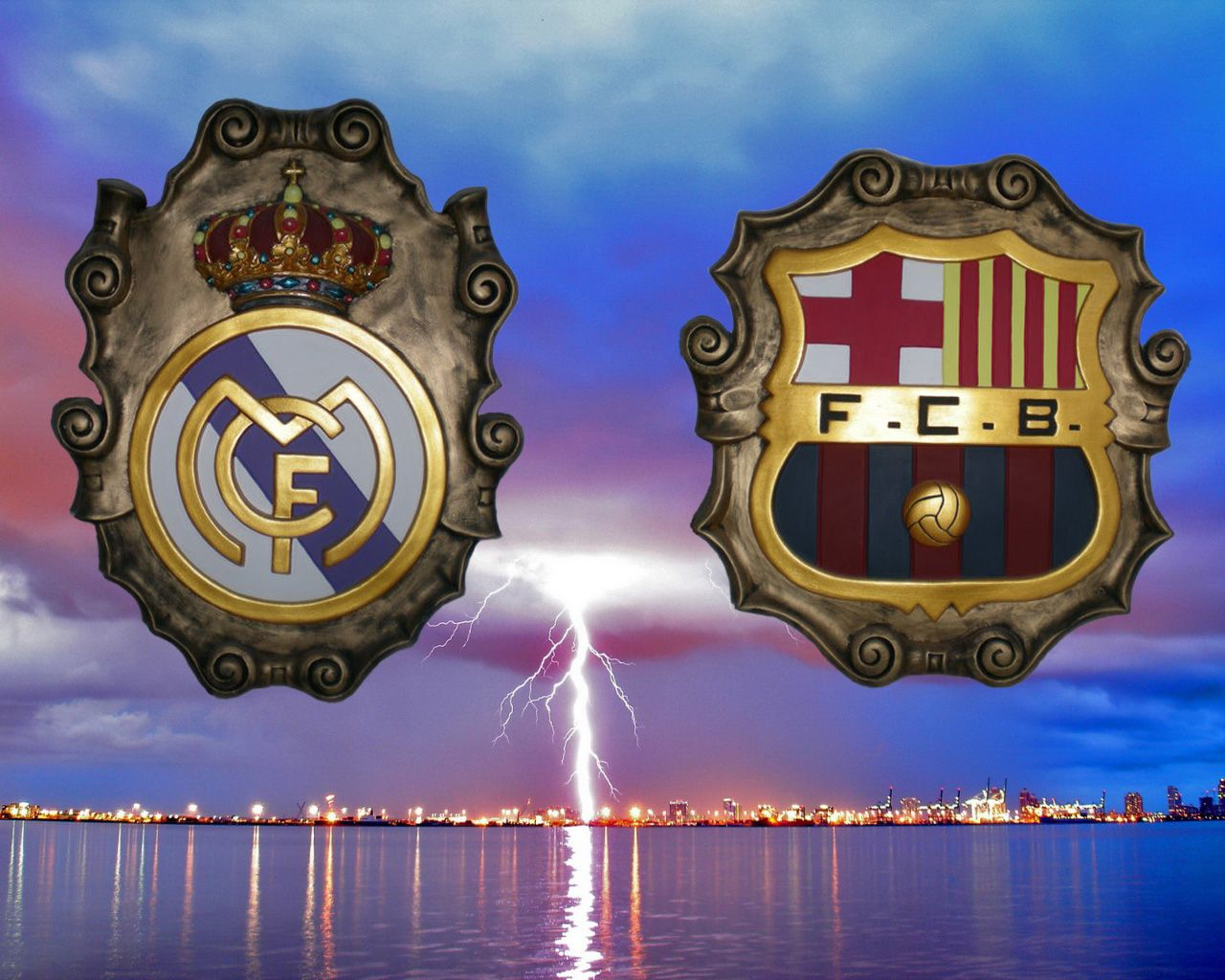MadridBarça primer clásico de la temporada!!!Visca FCB