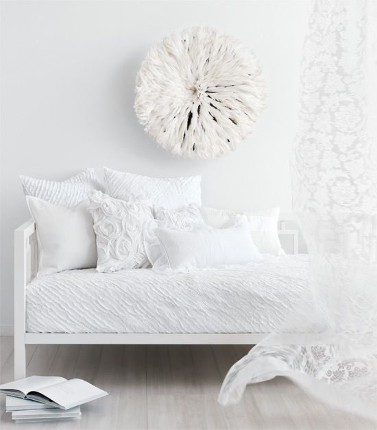 summer white daybed white on white: inspired design ideas