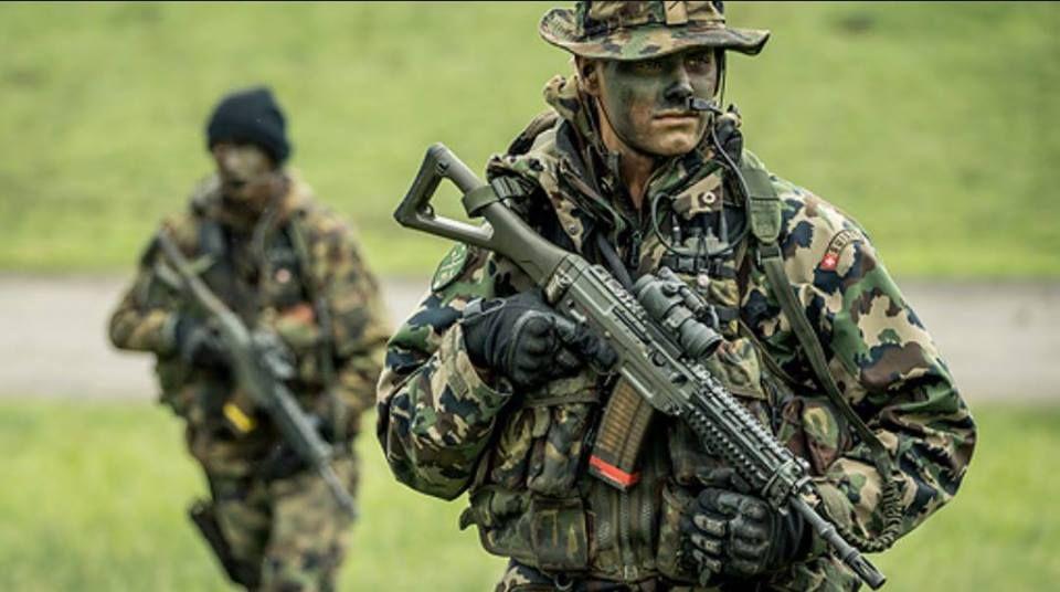 """Swiss Special Military Unit """"Fallschirmaufklärer"""""""