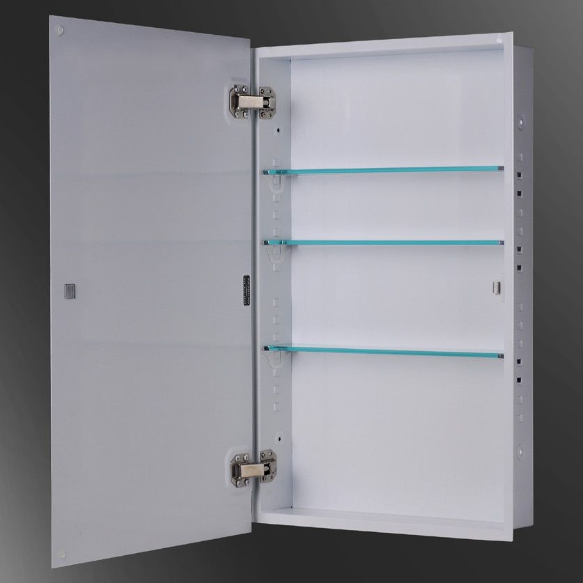 Ketcham Medicine Cabinets Euroline 16 X 30 Partially Recessed Cabinet