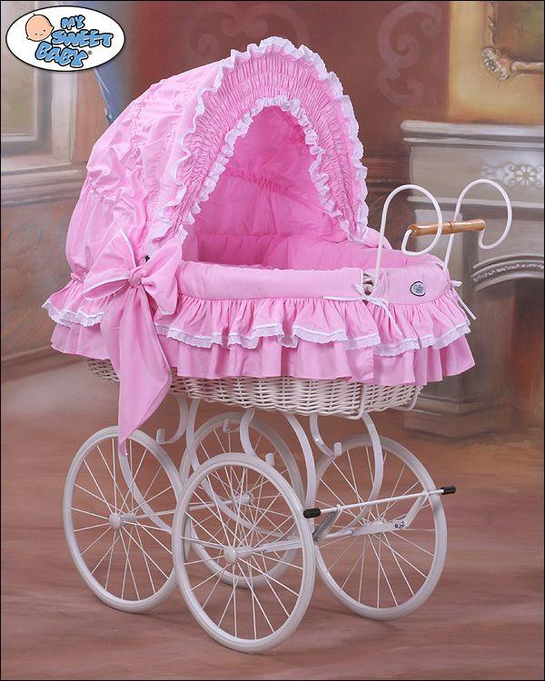 berceau bebe retro rose berceaubebe berceaubeberose berceaubeberetro berceaux pinterest. Black Bedroom Furniture Sets. Home Design Ideas