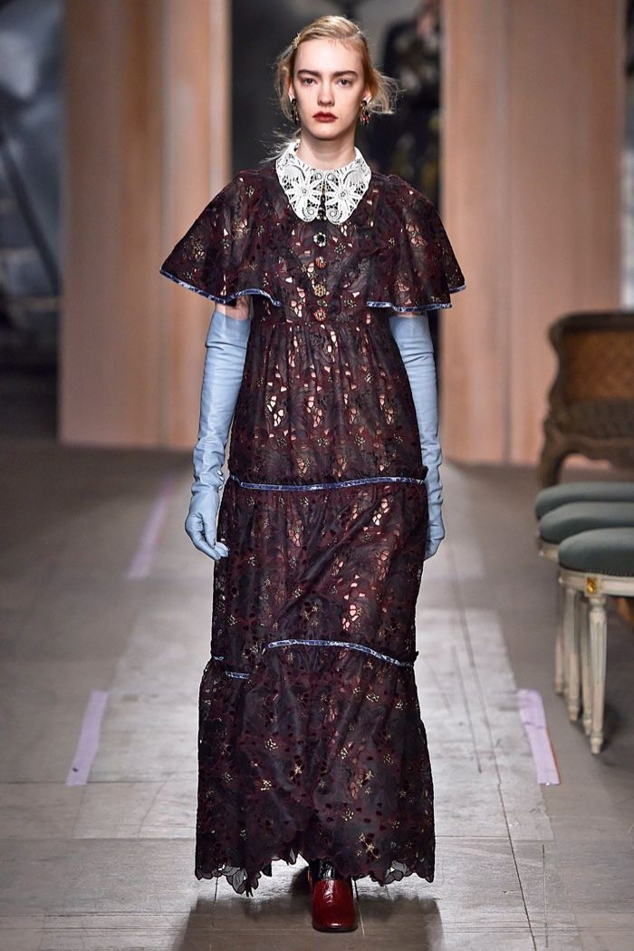 A look from Erdem's fall-winter 2016 collection