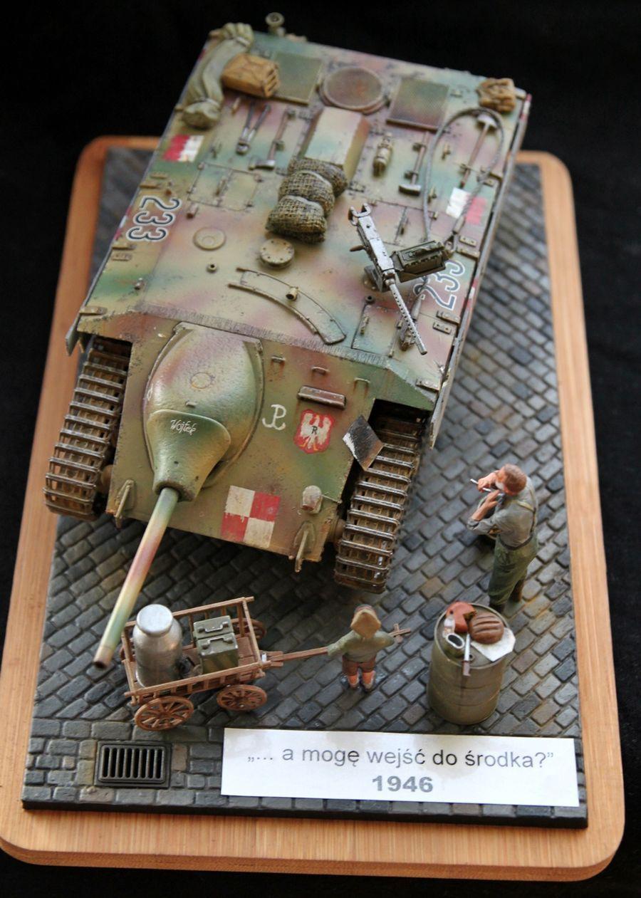 "Entwicklungsfahrzeug E-10 ""Wojtek"" - 1/35 - Trumpeter"