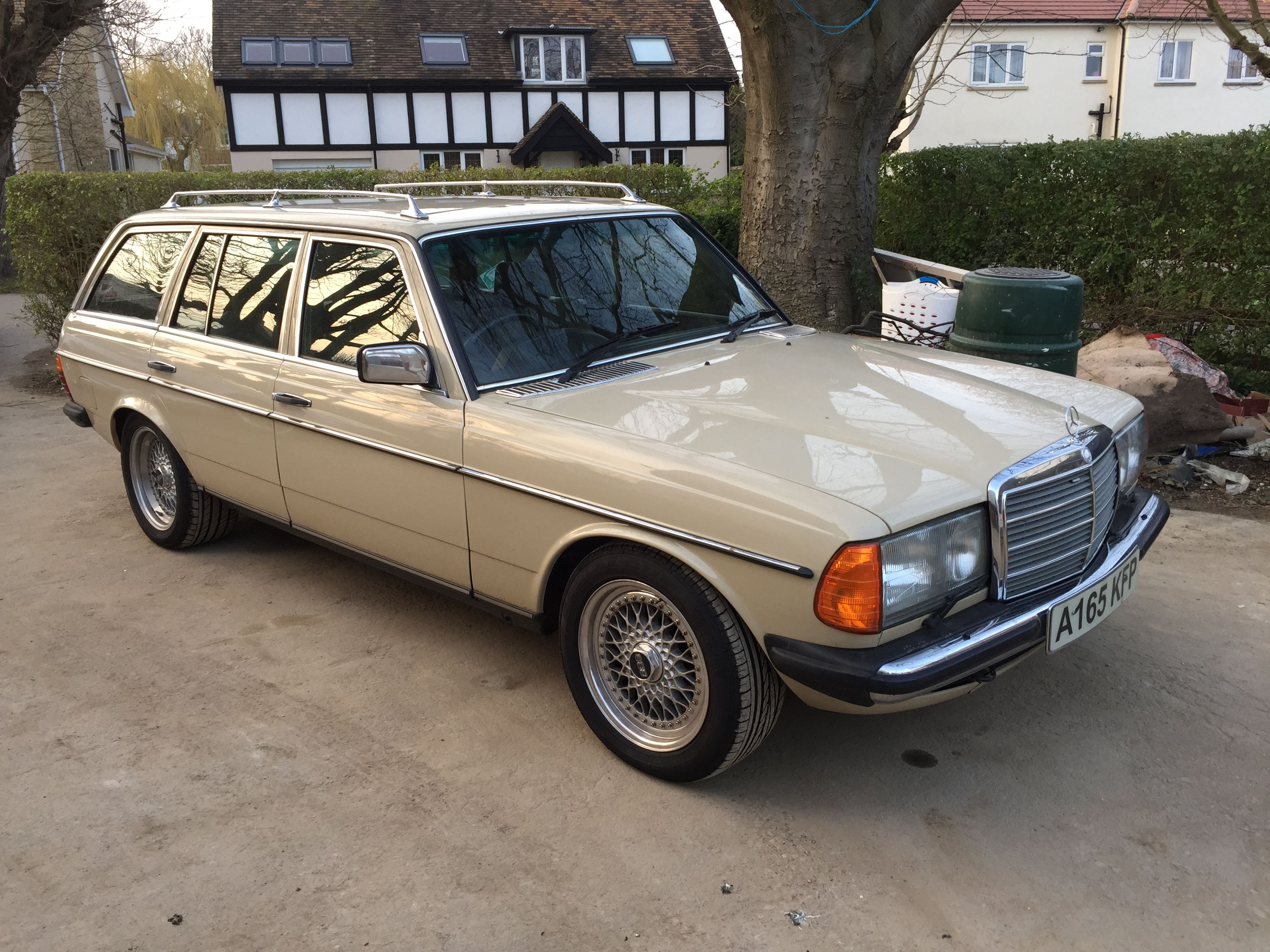 Mercedes W123 Wagon Estate Bbs Rs Alloys M117 5 0 V8