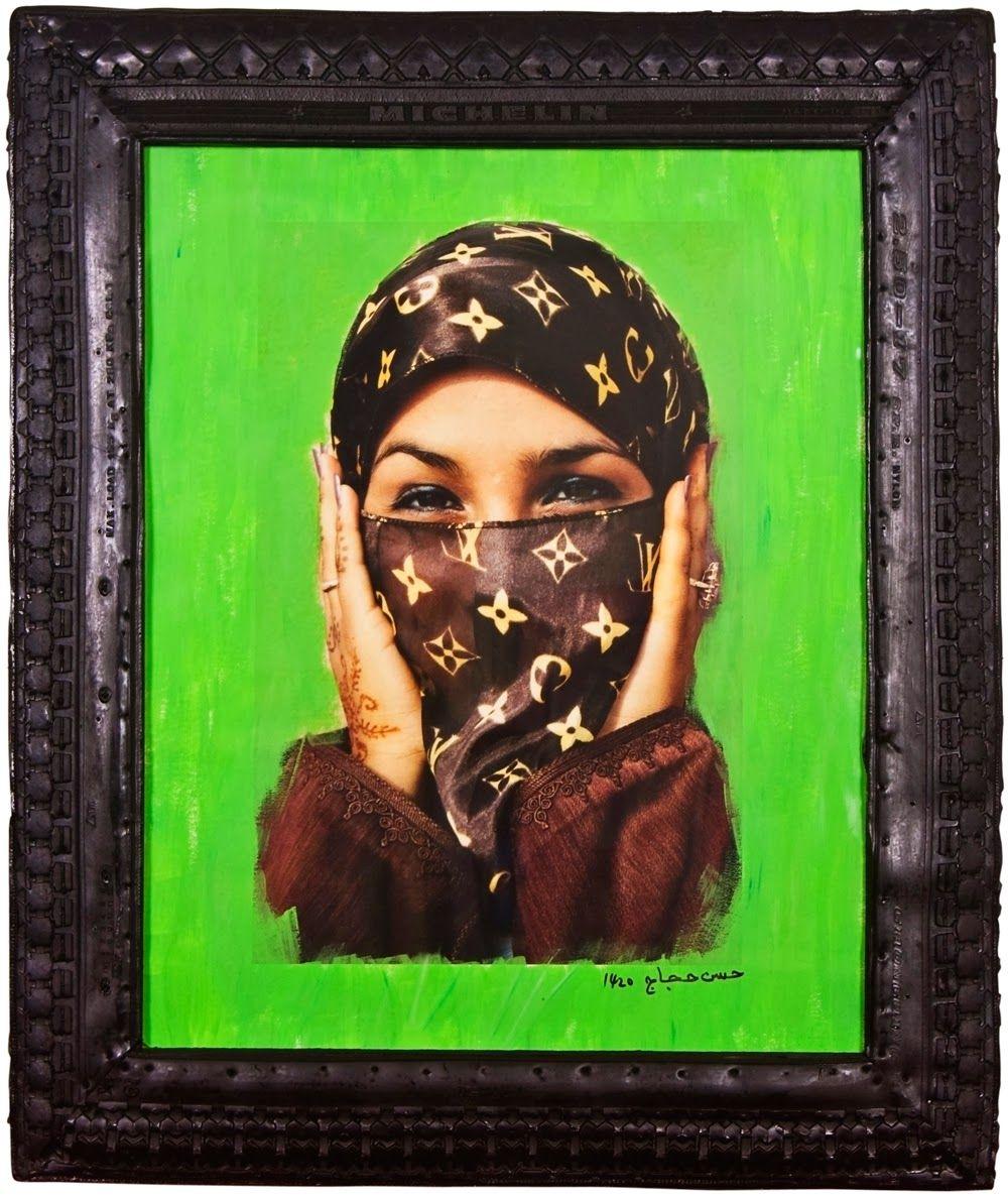 Hassan Hajjaj Pop art, Art américain, Photographie