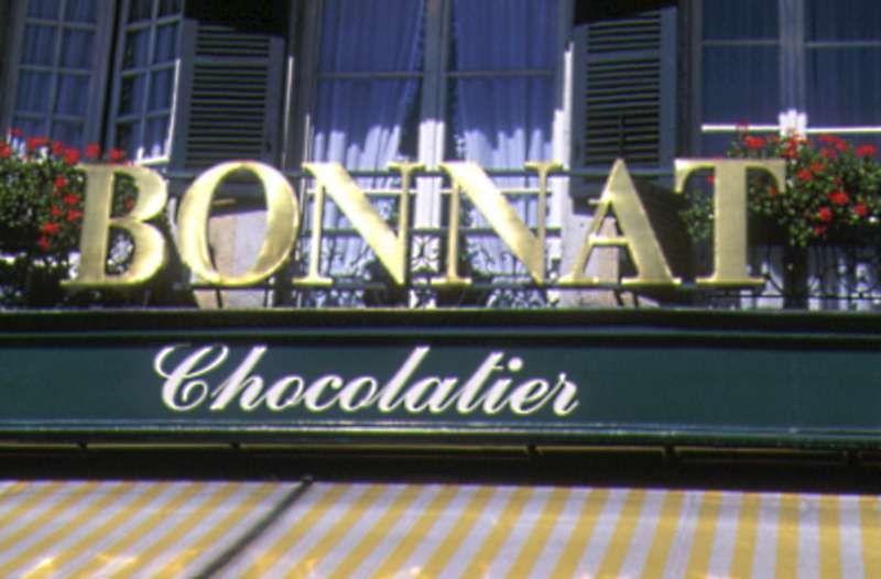 Chocolaterie Bonnat enseigne - © Chocolaterie Bonnat