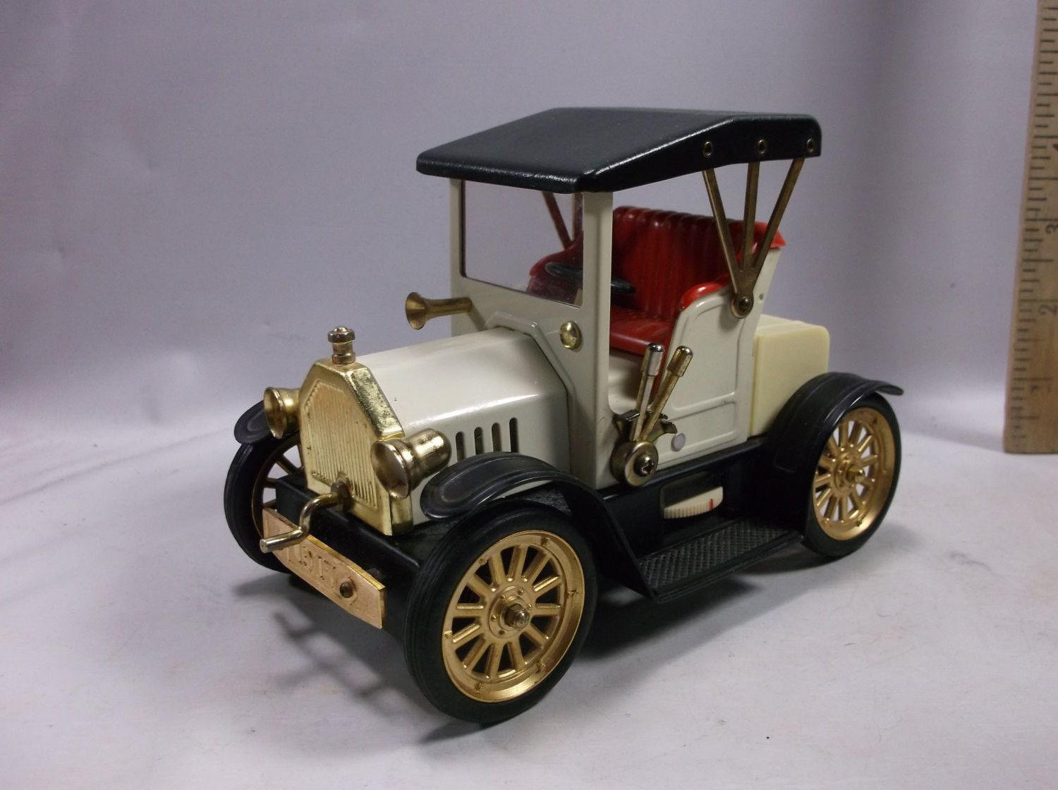 Ford Model T 1917 Transistor Radio Toy Size Car Working Am