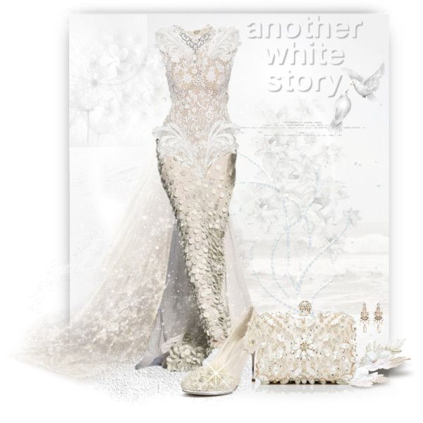 """""""Another White Story!"""" by sherri-2locos on Polyvore"""
