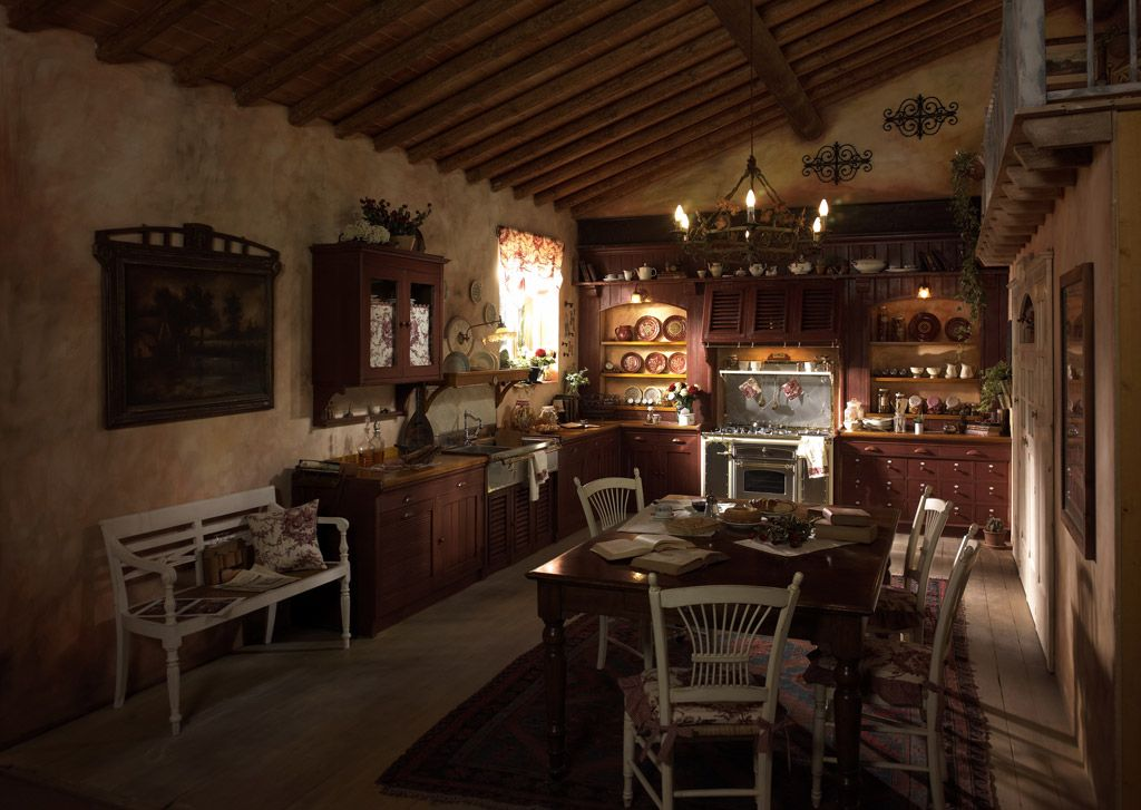 Country Chic Kitchen Incontrada by Marchi Cucine | Dining Room ...