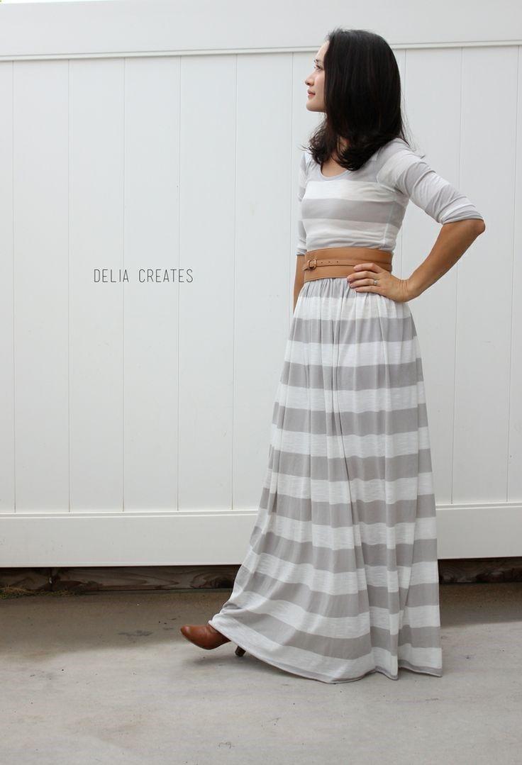 One easy pattern three styles - Short sleeve knee length dress, long ...