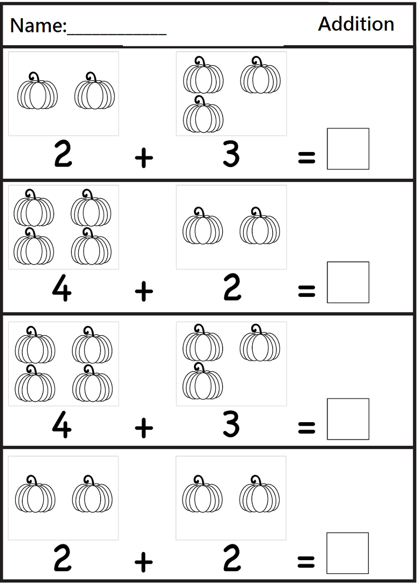 Math Sheets for Grade 1 - Kids Learning Activity | Math ...