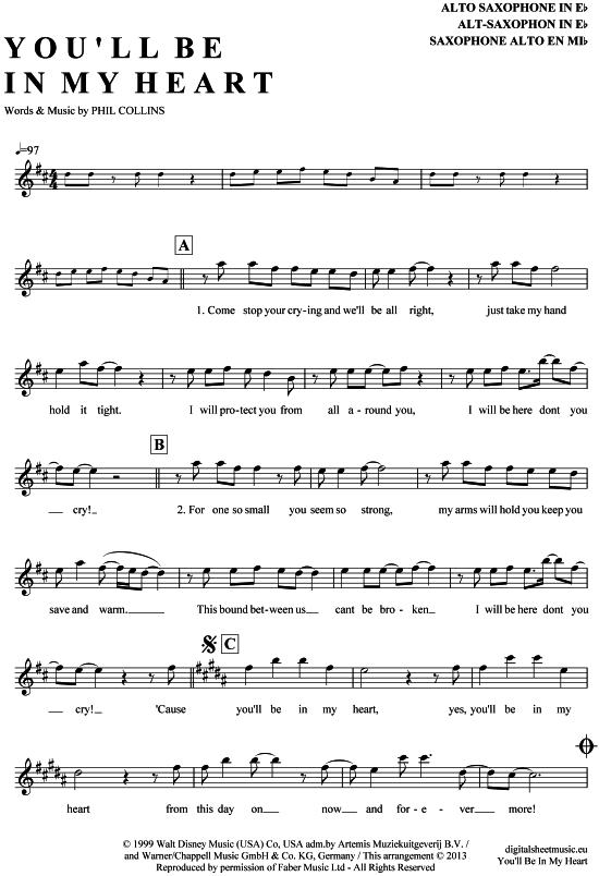 Pin Auf Saxophon Noten Bei Notendownload