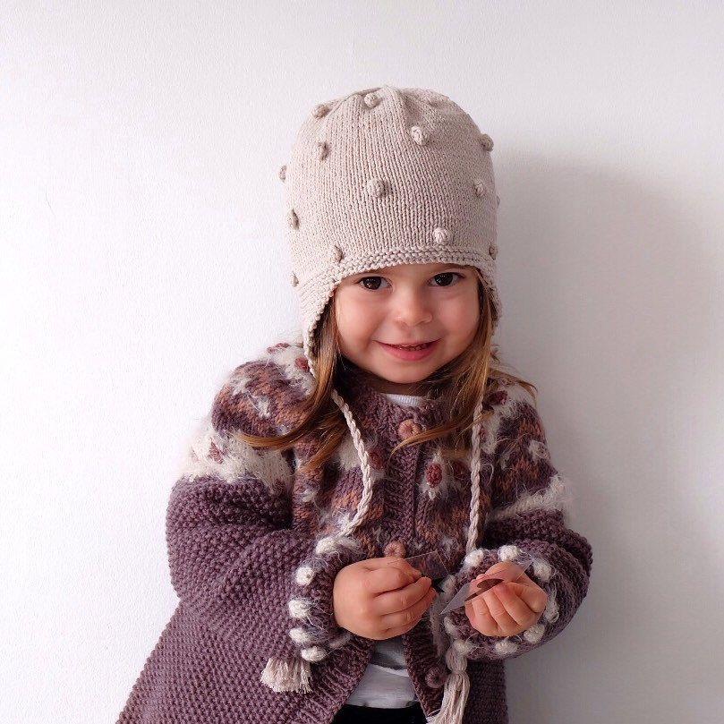 Kids unisex sweater Cozy knit cardigan Hooded cardigan Merino wool sweatwr Comfy baby sweater