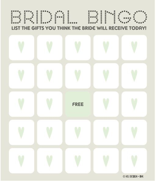 12 Free Bridal Shower Bingo Template visit wwwfreetemplateideas - free templates for bridal shower invitations