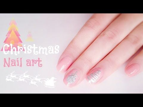 Christmas Nail Art Youtube Diy Nail Art Pinterest Christmas