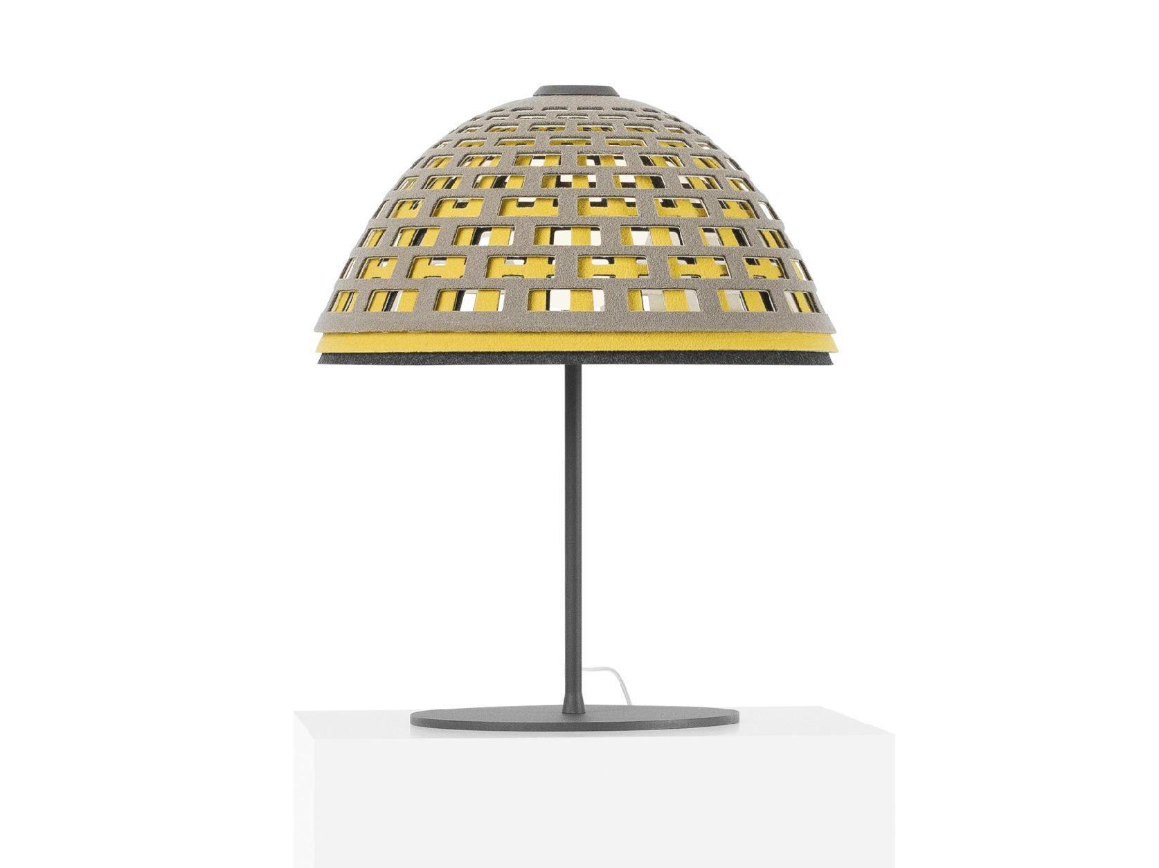 LAMPE DE TABLE EN FEUTRE COLLECTION LOOS BY ZERO   DESIGN LUCA NICHETTO