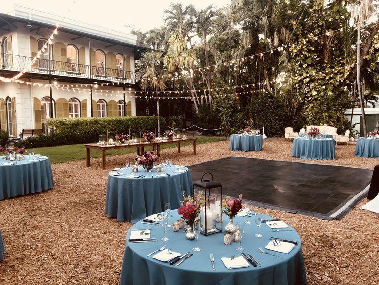 Hemingway Home Garden Wedding