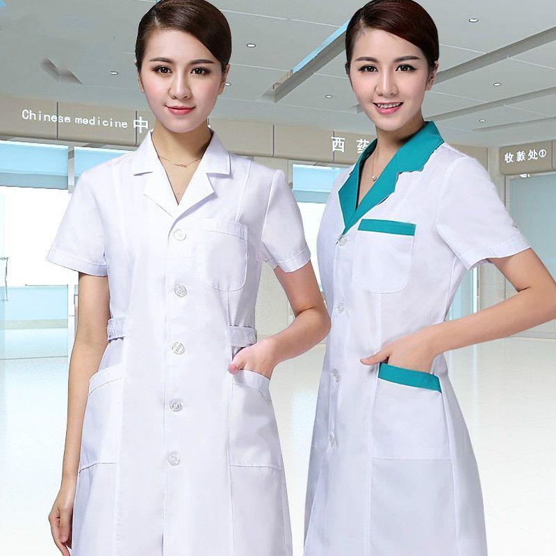 pharmacy medical clothing Short sleeves Dentist uniformes