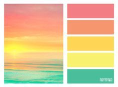 Pin By Tacytoo On Mint Green Palette Schemes Sunrise Colors