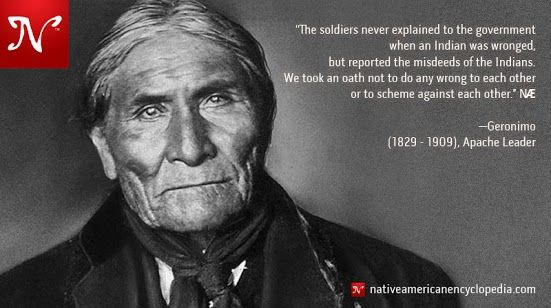 Geronimo Apache Quotes