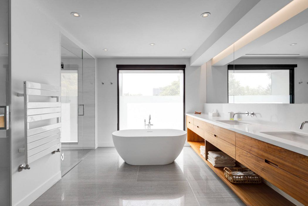 Dormer House by post Architecture House, Bath and Modern baths