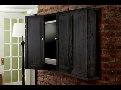 How To Build A Wall Hung Tv Cabinet