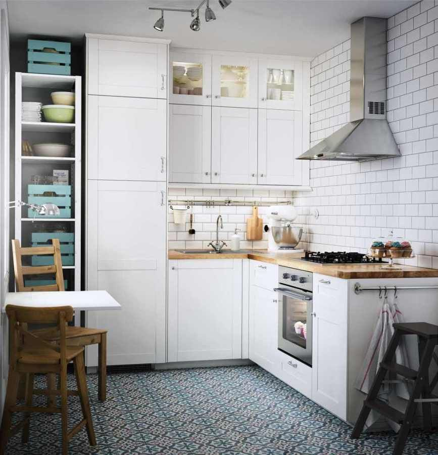 Cocina de Ikea | Cocinas pequeñas | Pinterest | Cocina ikea, Cocinas ...