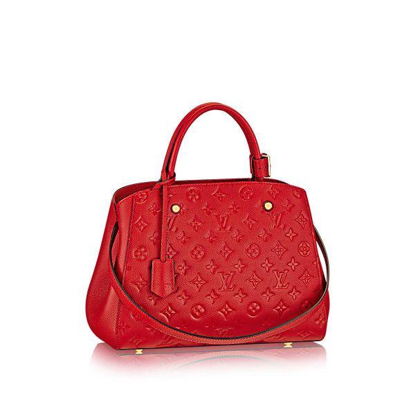 Montaigne MM Monogram Empreinte - Handbags | LOUIS VUITTON