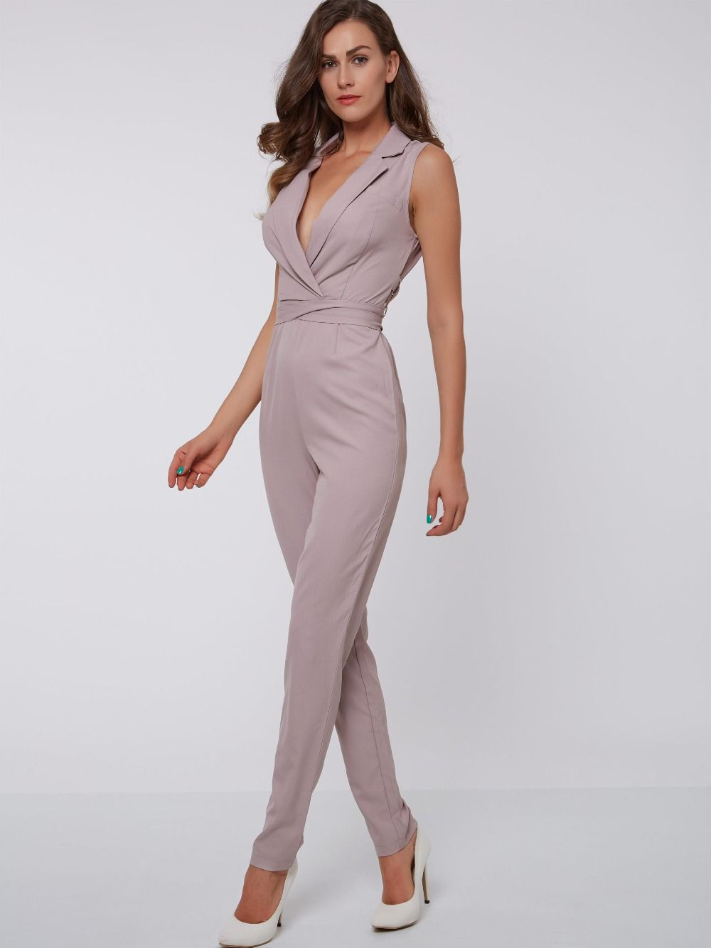 fdfaad94017 Sisjuly Women Summer Pink Jumpsuit Women Casual Full Length Pink Jumpsuit  Female Slim Lace Straight Zipper Hollow Jumpsuits   Price   20.99   FREE  Shipping ...