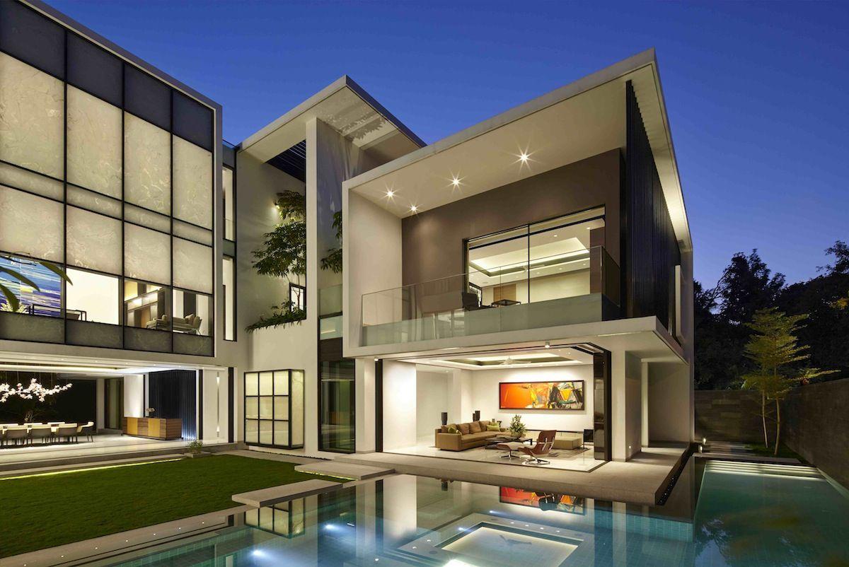 wow architects mandala house bangalore india private residence