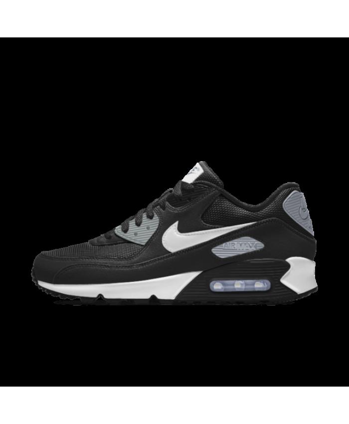Nike Air Max 90 Essential Id Black Grey White Mens Shoe Nike Air Max Nike Air Max 90 Air Max