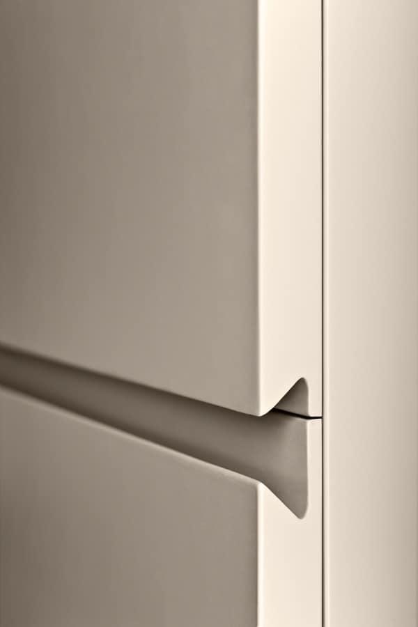 Quadra Cabinet For Living Rooms With Drawers Without Handles Kitchen Door Handles Cupboard Design Wardrobe Door Designs