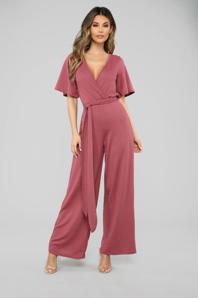 232b1c607e1 Best You Ever Had Jumpsuit - Mauve in 2019