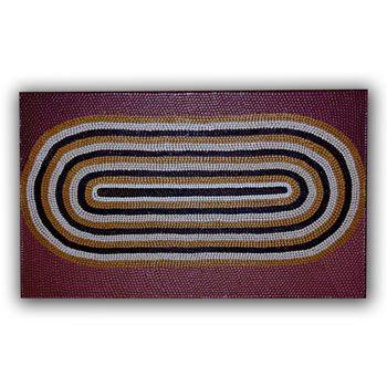 Aboriginal Art at it's best. Love.